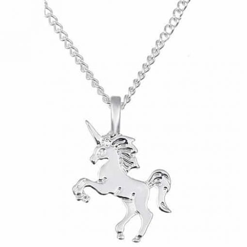 Unicorn Necklace Jewelry Sterling Silver