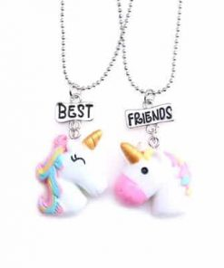 Unicorn Friendship Necklace Bff