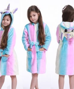 Unicorn Robe Fleece