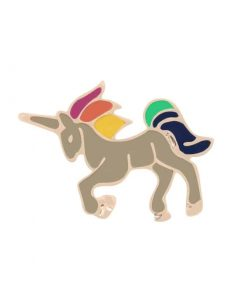 Unicorn Pins Brown