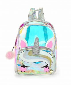 Unicorn Backpack Clear