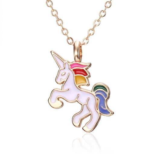 Unicorn Pastel Necklace Planet Walm