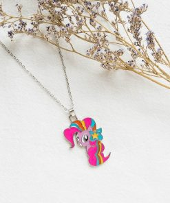 Unicorn Pastel Necklace Cute