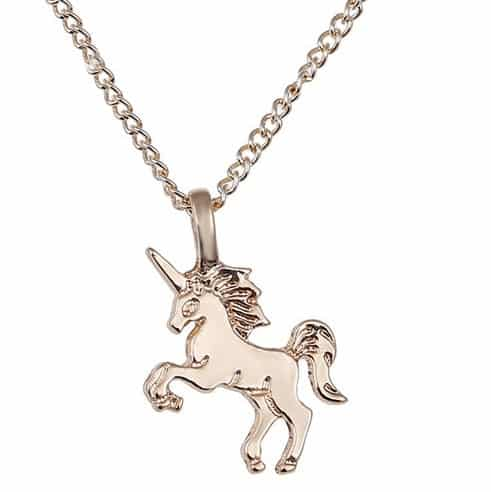 Unicorn Gold Necklace Childrens
