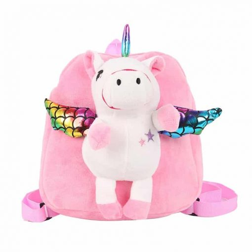Unicorn Backpack With Wings