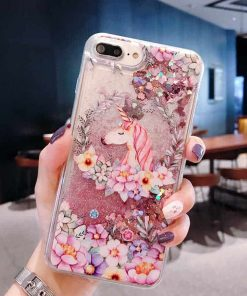 Unicorn Iphone Case Glitter