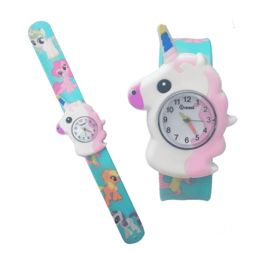 Unicorn Watch Snap On Wrist