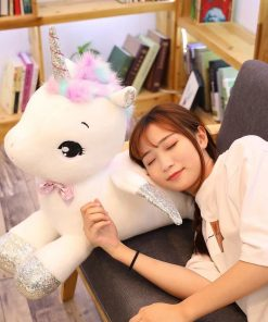 Giant Stuffed Unicorn Plush
