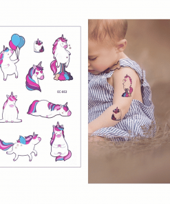 Unicorn Tattoo Temporary Fart