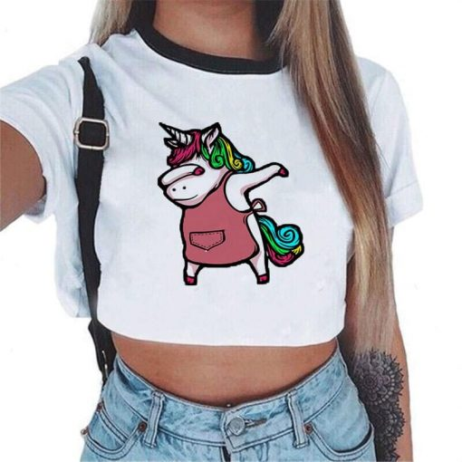 Unicorn Crop Top For Sale