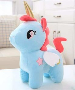 Unicorn Stuffed Animal Blue