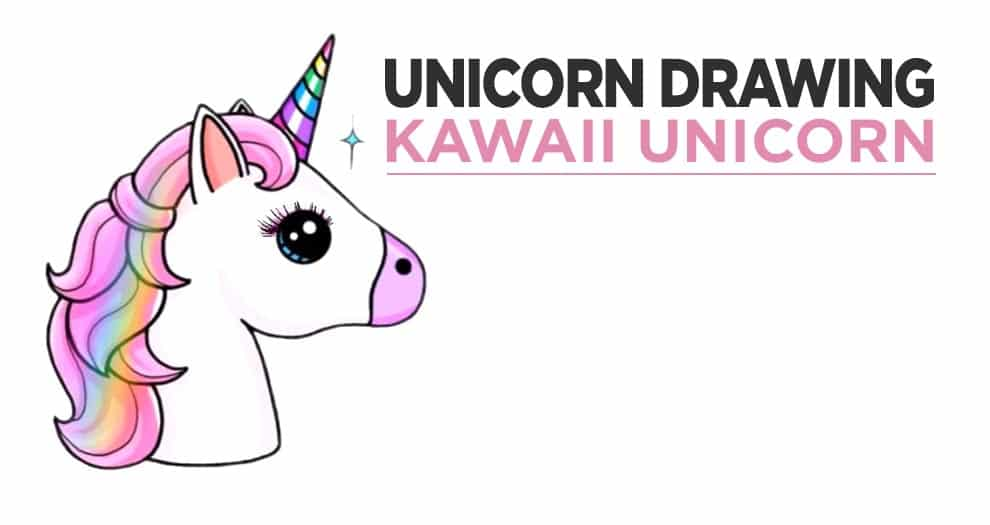 How To Draw A Kawaii Unicorn Easily ?
