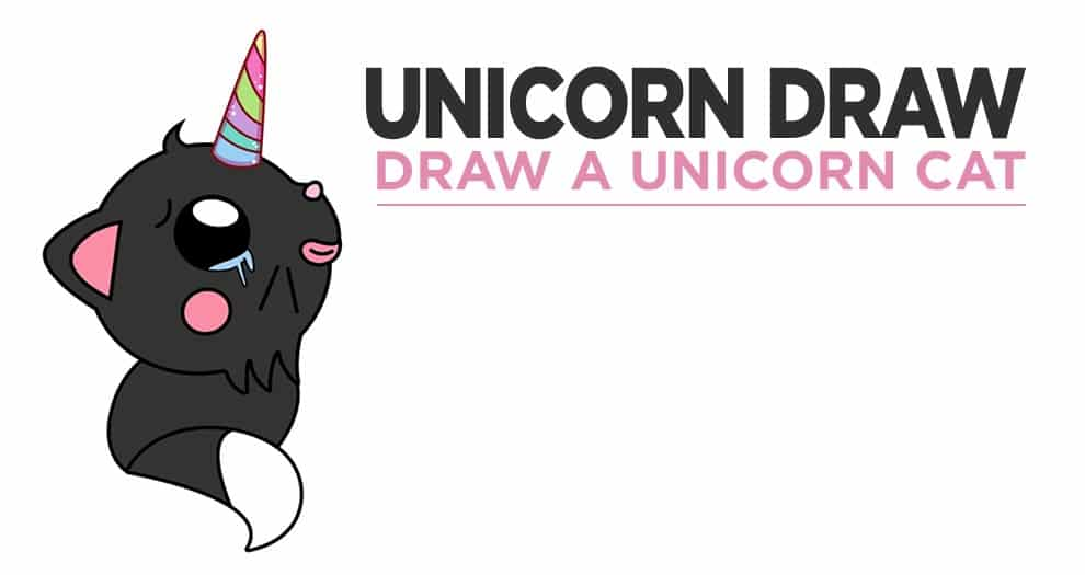 How Do You Draw A Kawaii Unicorn Cat ?