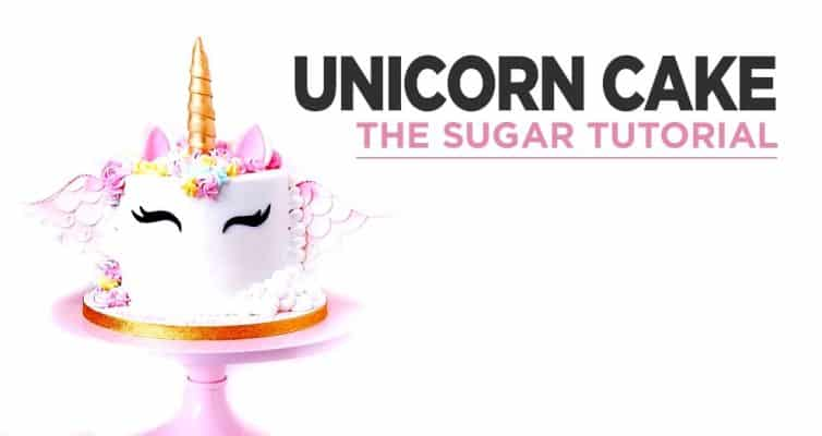Making A Unicorn Sugar Cake : The Tutorial