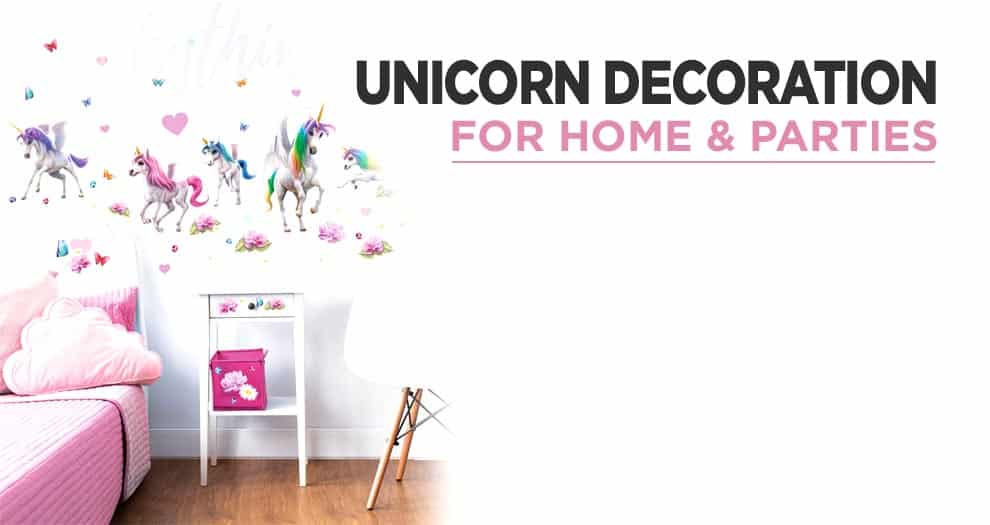 How To Make A Decoration On The Theme Of Unicorns ?