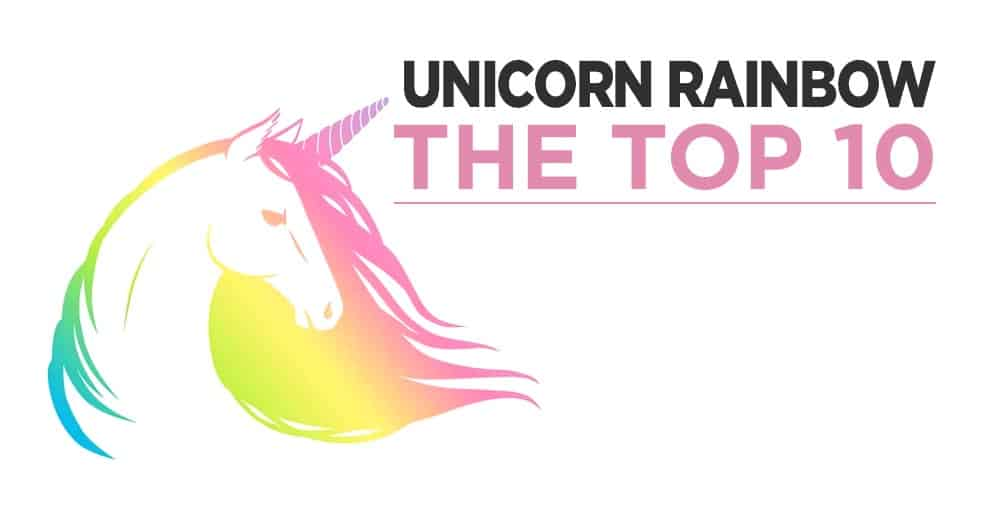Top 10 Rainbow Unicorns