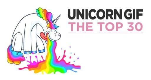 Top 30 Unicorn Gifs