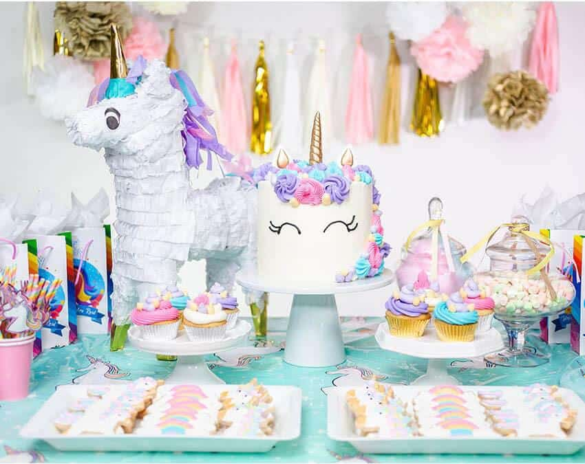 Birthday Accessories For A Successful Unicorn Party