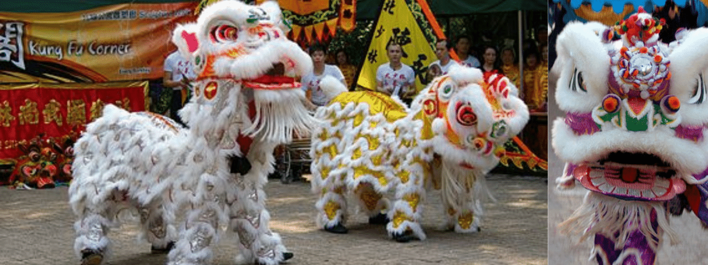 Chinese Unicorn Festival In Asia