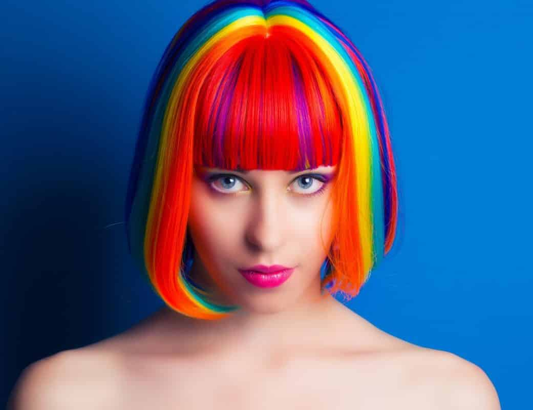 Eye Catching Rainbow Unicorn Hair