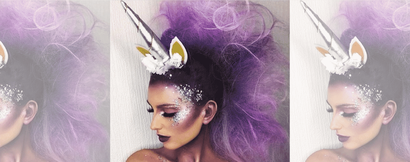 Horn Unicorn Make Up