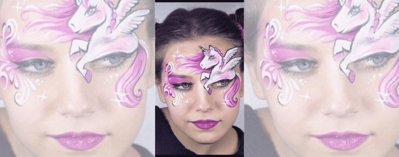 Unicorn Make Up Eyes