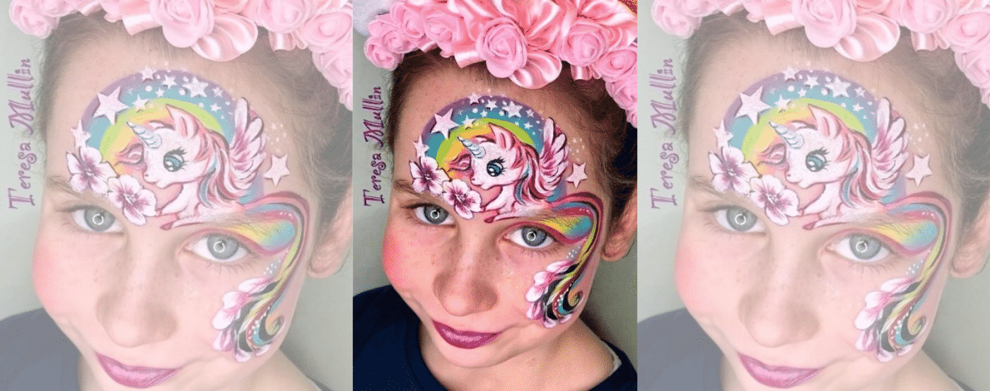 Unicorn Make Up My Little Poney