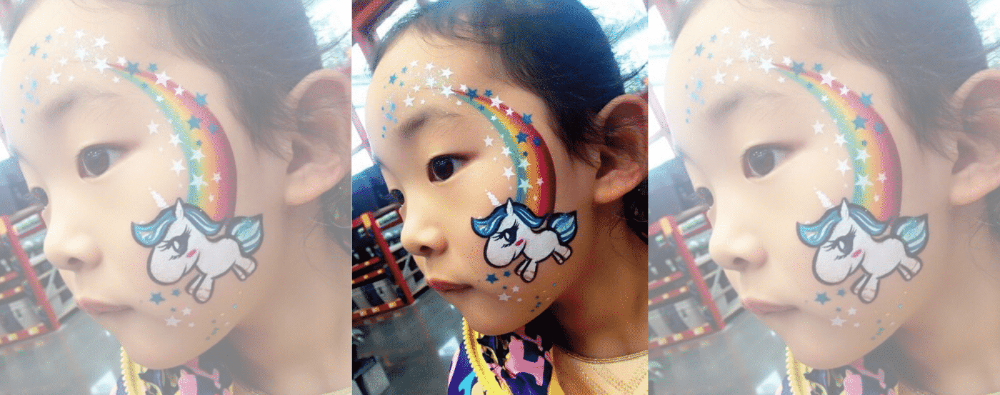 Unicorn Make Up Rainbow Little Poney