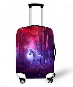 Unicorn Suitcase Cover