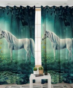 Unicorn Curtains Folk