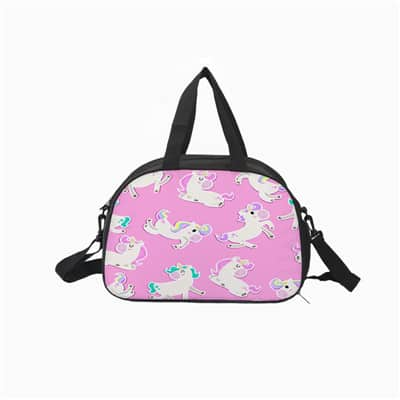 Unicorn Duffle Bag Pink
