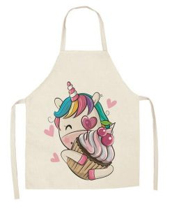 Unicorn Apron Baking