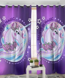 Unicorn Curtains Magical