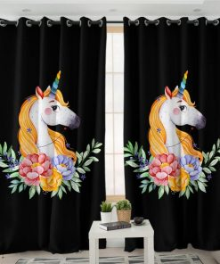 Unicorn Curtains Eyelet
