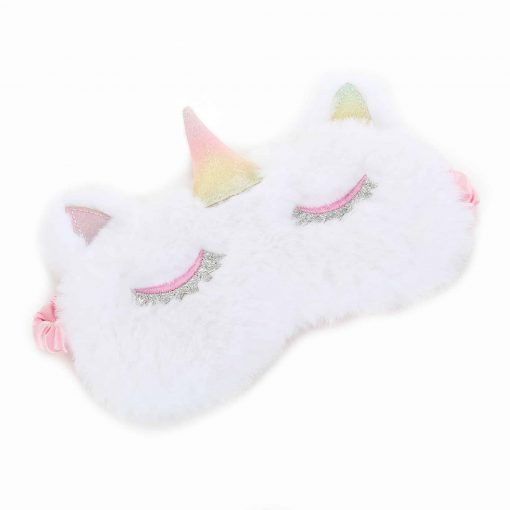 Unicorn Sleep Mask White