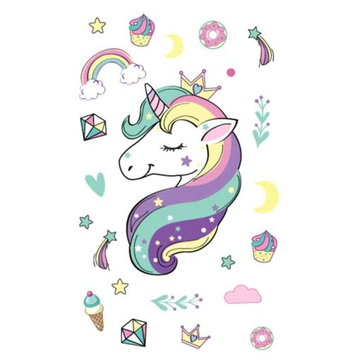 Unicorn Stickers Rainbow