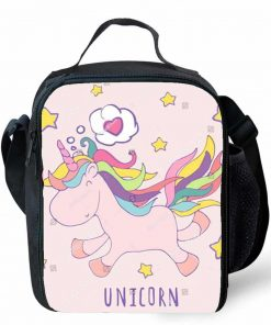 Unicorn Lunch Bag Pink