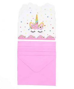Unicorn Birthday Invitation Wording