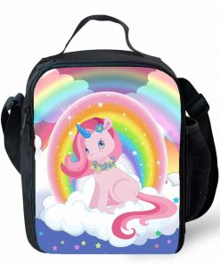 Unicorn Lunch Bag Rainbow Box