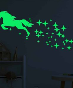 Unicorn Stickers Fairy And Wall