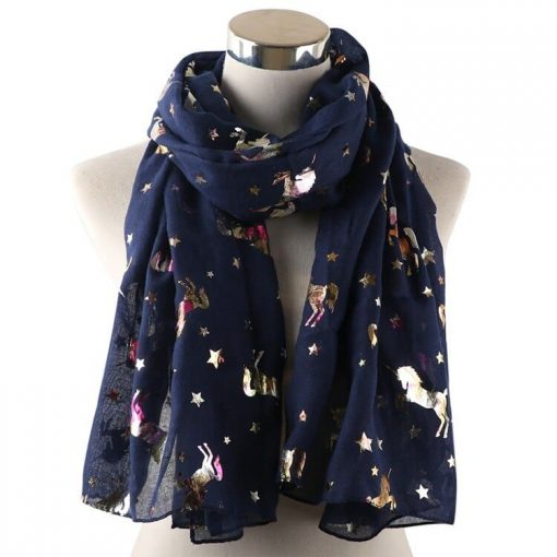 Unicorn Scarf Blue