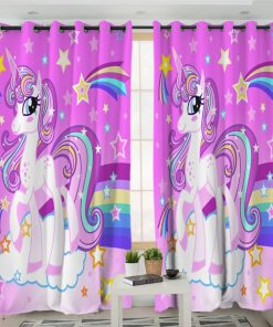 Unicorn Curtains Room