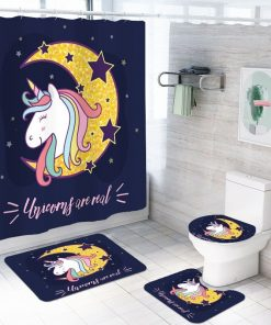 Unicorn Bathroom Set Dark Moon