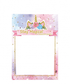 Unicorn Party Decoration Picture Frame