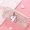 Unicorn Pencil Case Transparent