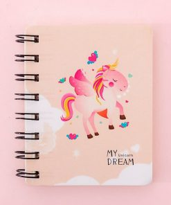 Unicorn Notebook Orange