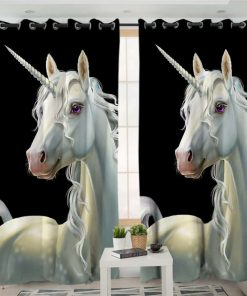 Unicorn Curtains Pole