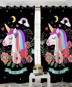 Unicorn Curtains Magic Target