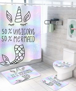 Unicorn Bathroom Set Mermaid
