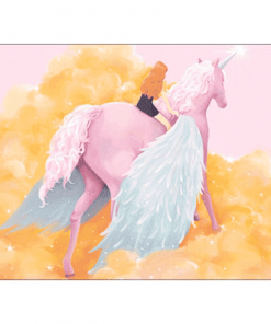 Unicorn Mouse Pad Cloud